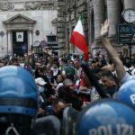 roma arresti corteo no green pass