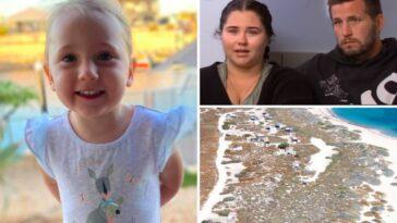 Cleo Smith scomparsa a 4 anni dal campeggio nella notte