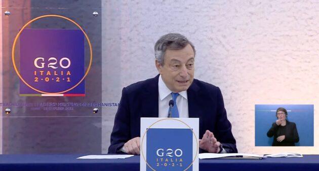 g20 draghi Afghanistan