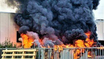 incendio Arezzo galvanica