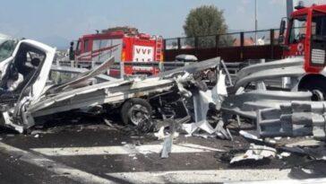incidente a4 Brescia