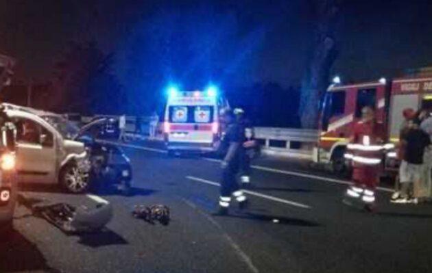 incidente raccordo roma