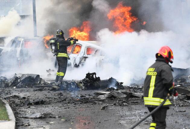San Donato Milanese incidente