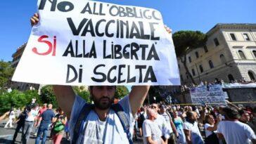 non vaccinati in Italia