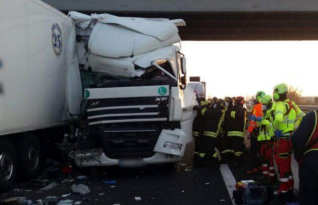 Brescia incidente autostrada