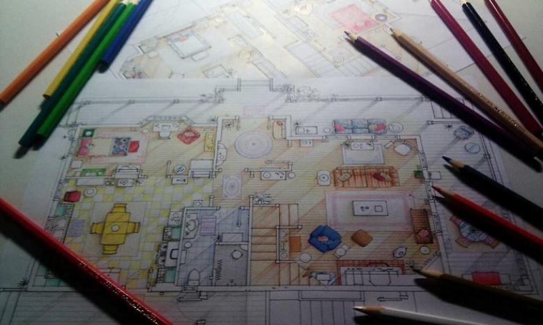 Urbangallery le case delle serie tv sapreste for Planimetrie delle case americane